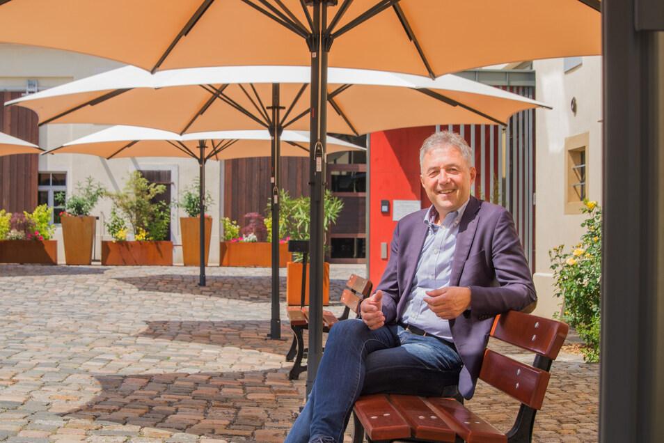 Für Bau- und Planungsleistungen bis 30.000 Euro braucht Bürgermeister Jochen Reinecke künftig keinen Stadtratsbeschluss mehr.