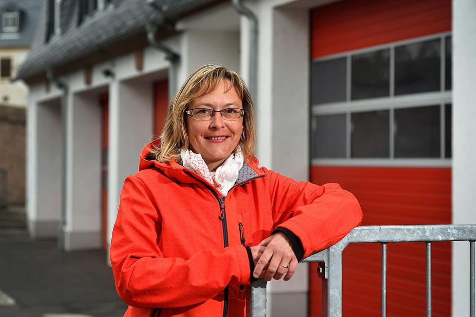 Mandy Thümer ist die Leiterin des Ordnungsamtes Weinböhla