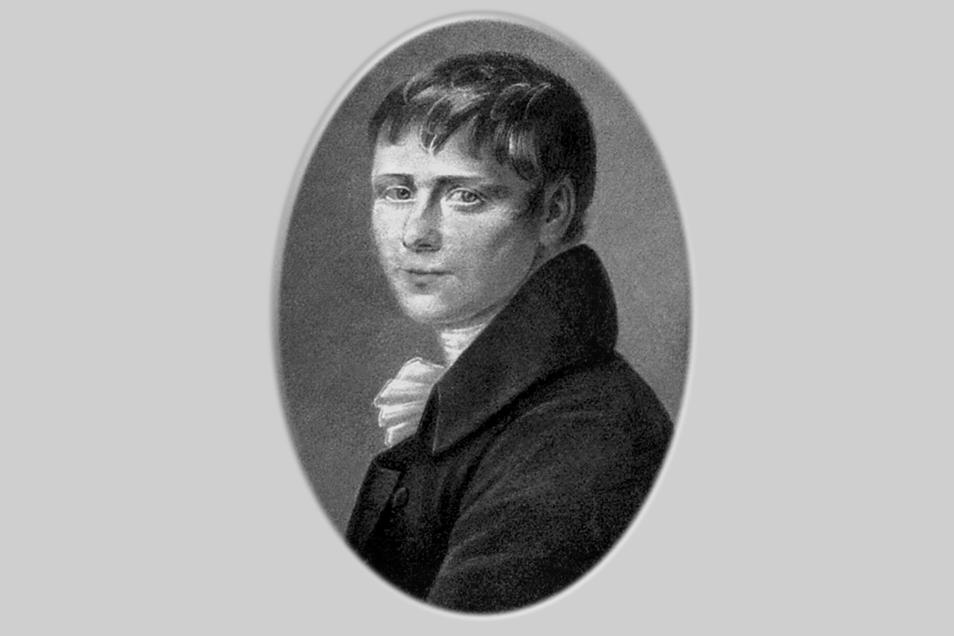 Zeitgenîssische Darstellung von Heinrich von Kleist.