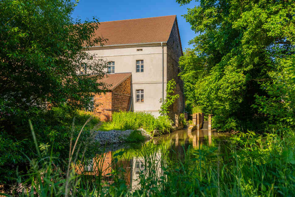 Die zweite Mühle in Spohla war die Obermühle – heute ein Wohnhaus.