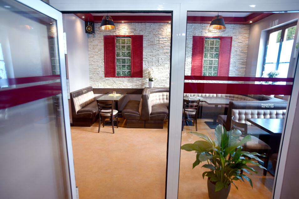 Der Gastraum bietet 60 bis 70 Personen Platz.