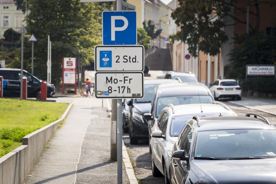 Am Parkplatz An der Gasanstalt soll das Abstellen von Autos künftig etwas kosten. Bislang kann unterhalb des Mannheimer Platzes zentrumsnah zwei Stunden kostenfrei geparkt werden.
