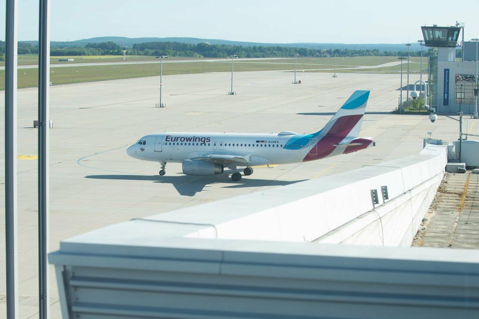 Ab kommendem Montag fliegt Eurowings wieder zwischen Dresden und Stuttgart.