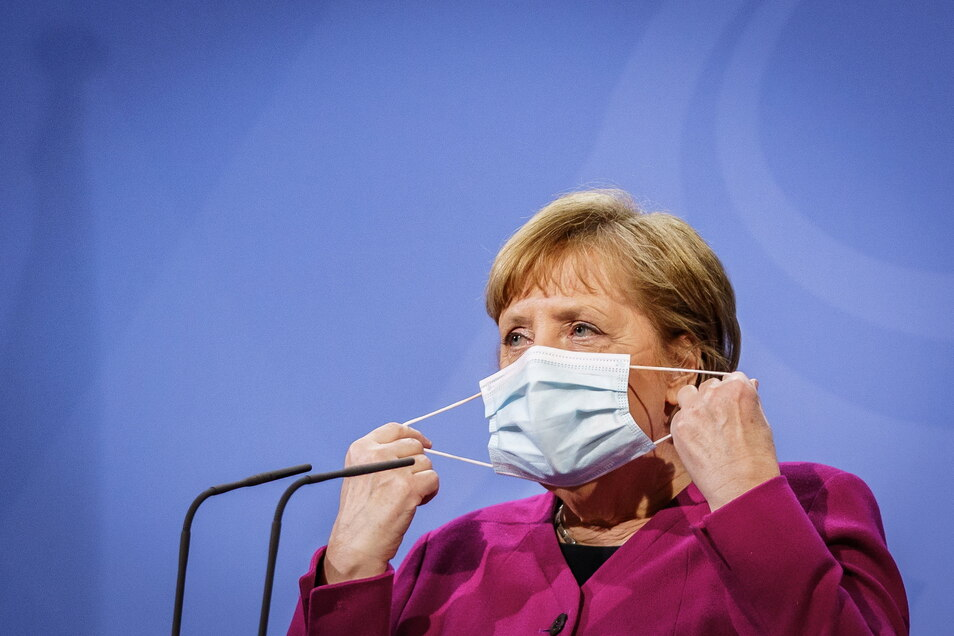 Schutz vor Corona? Auf Bundeskanzlerin Merkel können die Bürger:innen dabei nicht zählen.