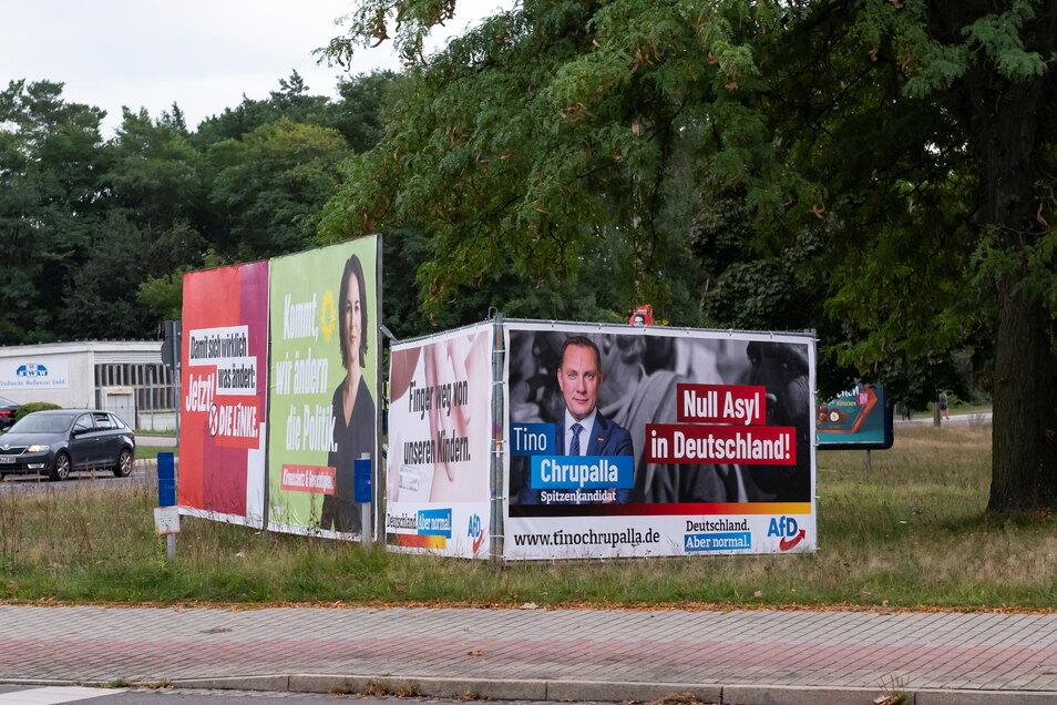 """""""Null Asyl in Deutschland"""", wirbt die AfD."""