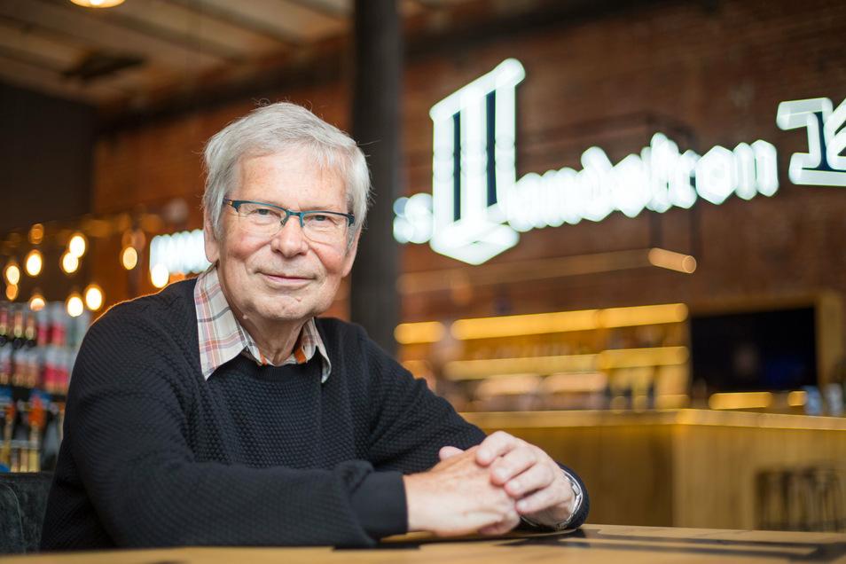 Urgestein der Landskron Brauerei: Bernd Skrzypczak ist seit 60 Jahren Mitarbeiter.