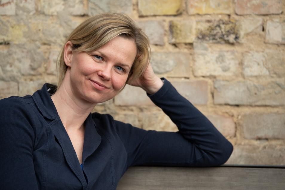Entspannt und absolut mit sich im Reinen: Britta Steffen genießt die Karriere nach der Karriere. Ihre Erfahrungen möchte sie aber gern weitergeben.