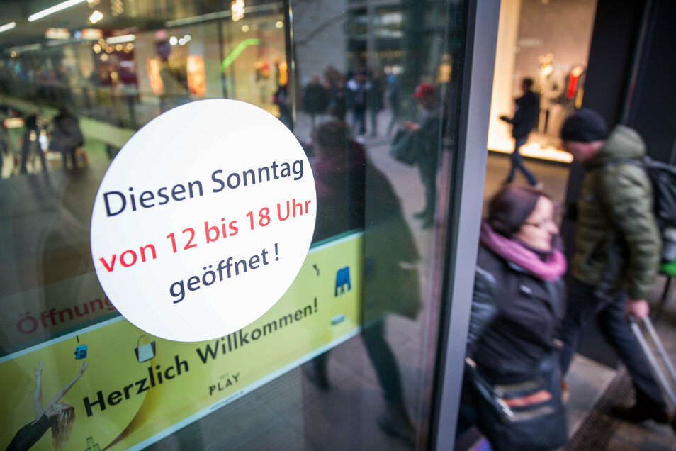 Selbst in Dresden waren die Läden in den vergangenen Jahren nur an einem Sonntag offen.