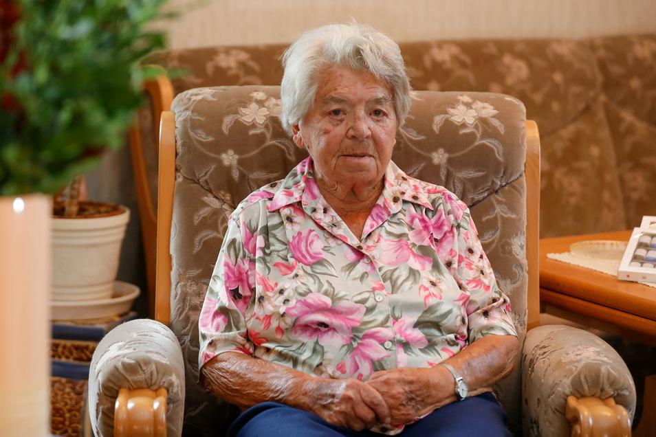 Brunhilde Wagner wird im Oktober 108 Jahre alt. Damit ist sie die älteste Einwohnerin im Landkreis Görlitz.