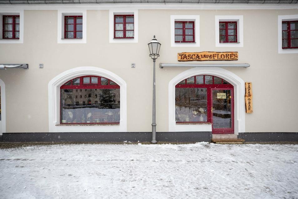 """""""Tasca las Flores"""" heißt die neue Tapas-Bar am Stadtplatz in Königstein. Mit Blumen hat das übrigens nichts zu tun."""