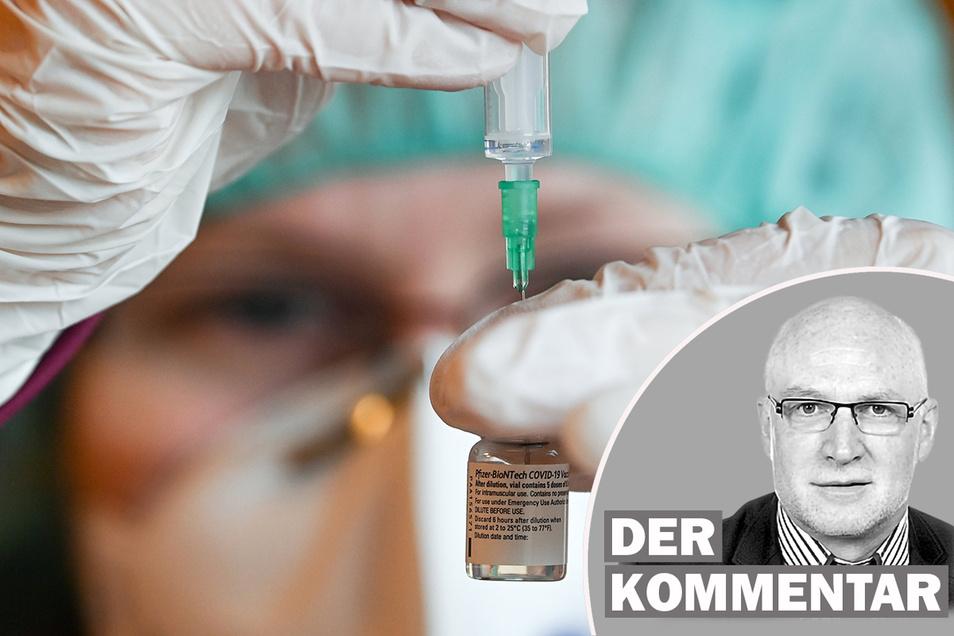 Detlef Drewes kommentiert den Auftakt der Corona-Impfungen.