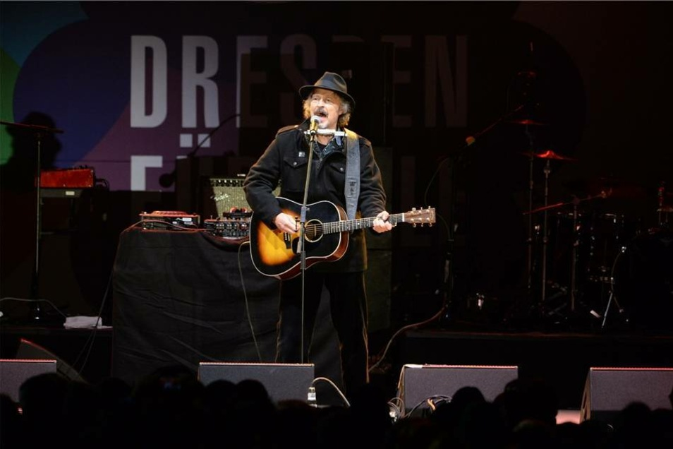 BAP-Sänger Wolfgang Niedecken auf der Bühne.