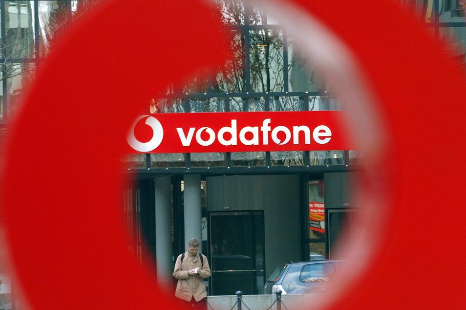 Symbolbild: Im Vodafone-Netz gibt es seit dem Montagmittag massive Störungen.