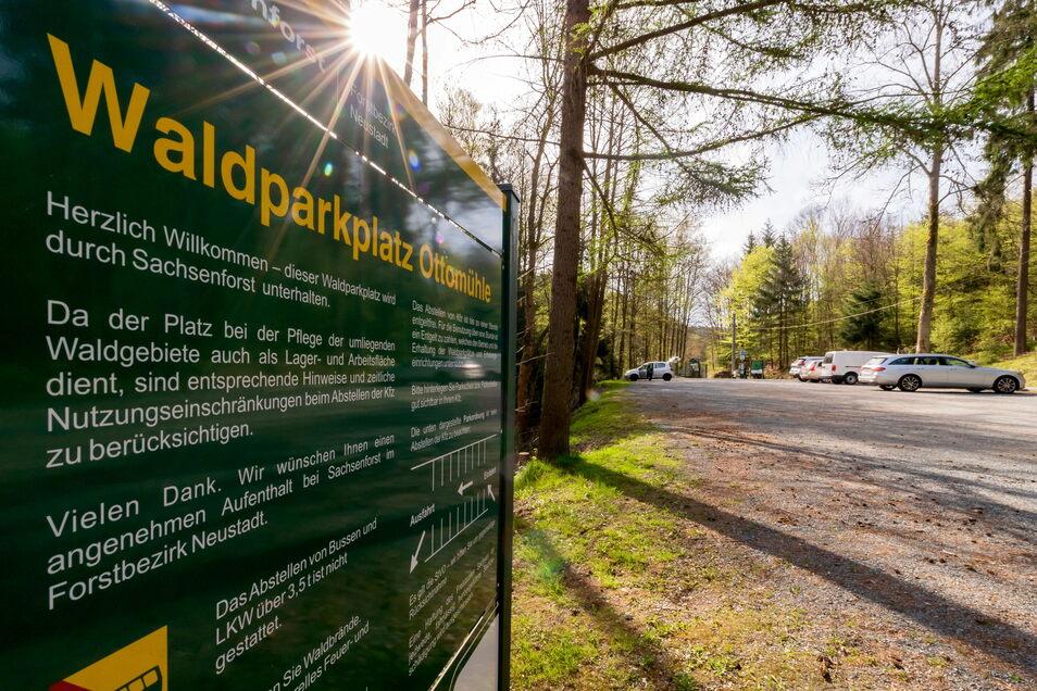 Das Bielatal gehört zu den beliebtesten Wanderregionen in der Sächsischen Schweiz. Auf dem Parkplatz an der Ottomühle können Wanderer noch in dieser Saison ihre Notdurft verrichten - und müssen dafür nicht mehr in den Wald.