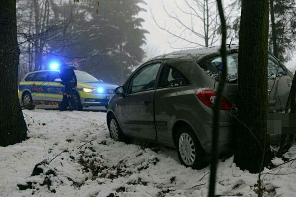 Ein Bild von der Unfallstelle