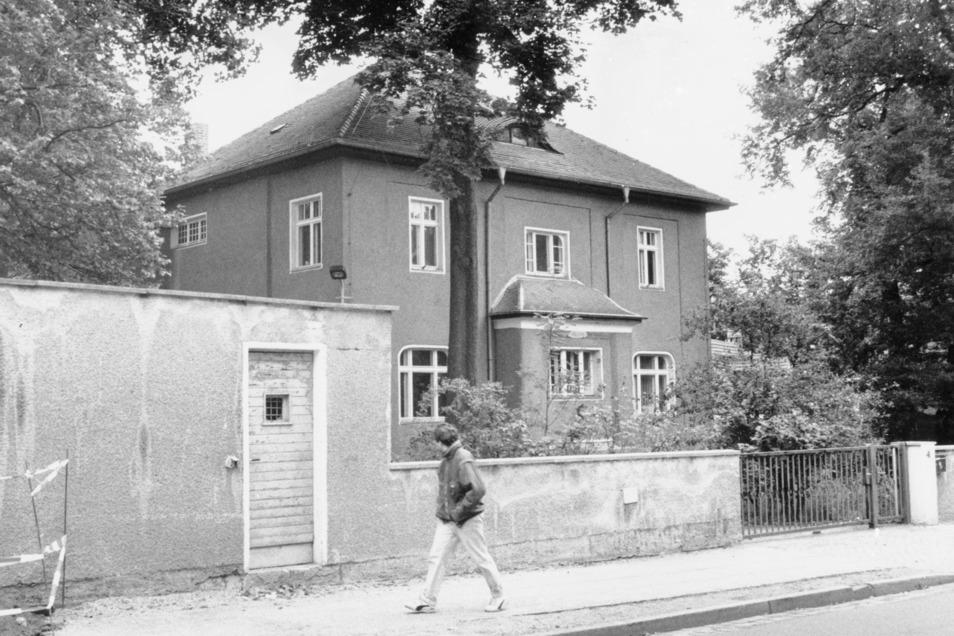 Auf der Angelikastraße residierte einst der KGB in Dresden.