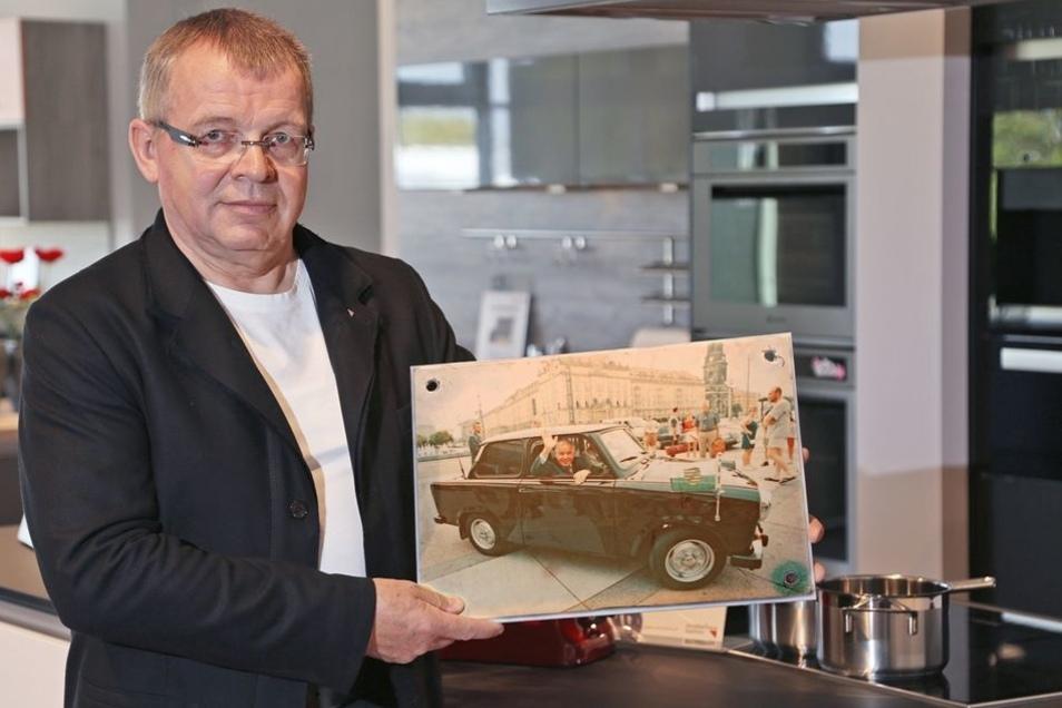 Höchstbieter war Tischlermeister Lutz Preusche aus Röderau.