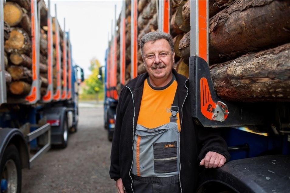Am meisten freut Tilo Meißner, wenn die Lkws ausgelastet und unterwegs sind. 2012 zog die Firma von Spechtshausen nach Kurort Hartha.