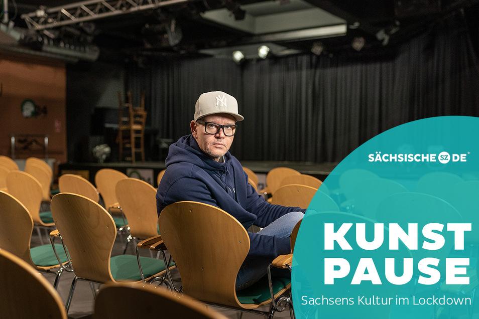 Kennt die Nöte der Kultur- und Gastrobranche: Musiker, Musiklehrer, Café-Betreiber und Veranstalter Uwe von Schroeter.