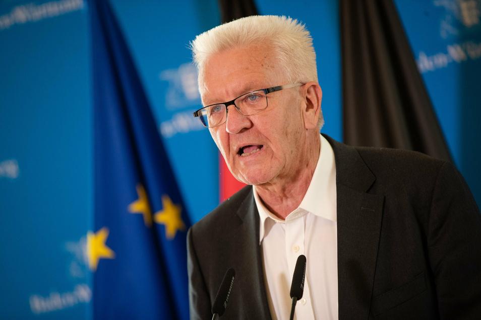 Winfried Kretschmann (Bündnis 90/Die Grünen) ist Ministerpräsident von Baden-Württemberg