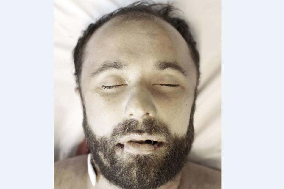 Die Polizei veröffentlichte dieses Bild des Toten, nach dessen Identität gesucht wird.