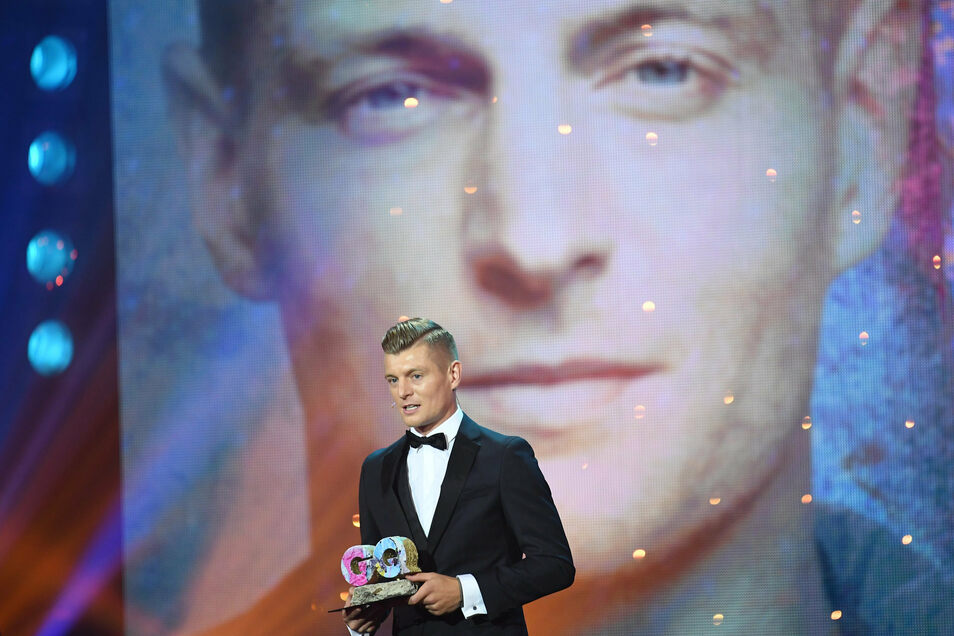 Der Fußballer Toni Kroos wurde in der Kategorie Sports Icon geehrt.
