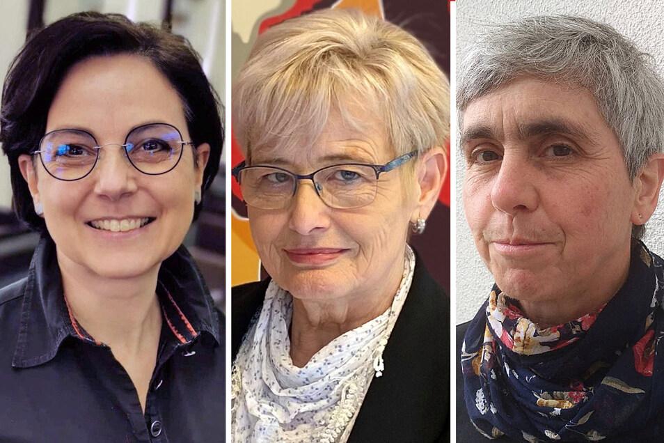 Das preisgekrönte weibliche Trio: Ines Eckstein, Edith Klikics-König und Anne Weigang (v.l.).