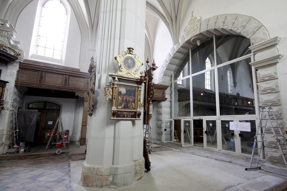 Für die Epitaphienausstellung in der Klosterkirche gaben die Lions ebenfalls Geld.