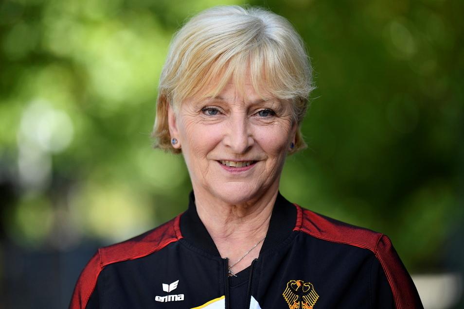 Ulla Koch, Cheftrainerin der deutschen Turnerinnen.
