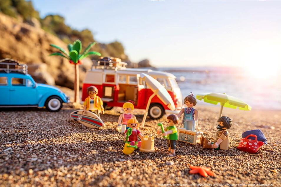 Im Spiel mit Playmobil ist der Strandurlaub kein Problem.