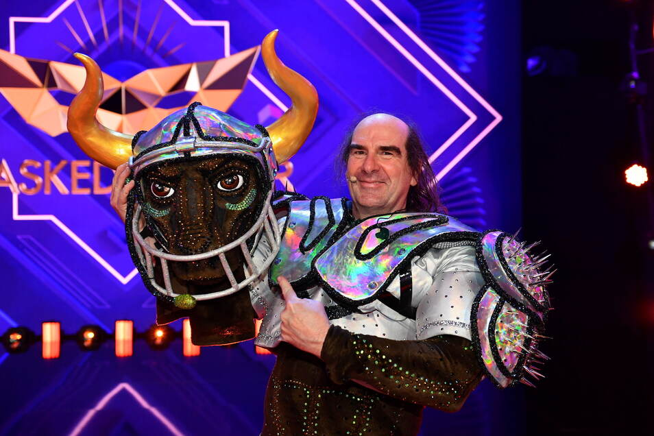 """Guildo Horn ist die Figur """"der Stier"""" bei der ProSieben-Show «The Masked Singer»."""