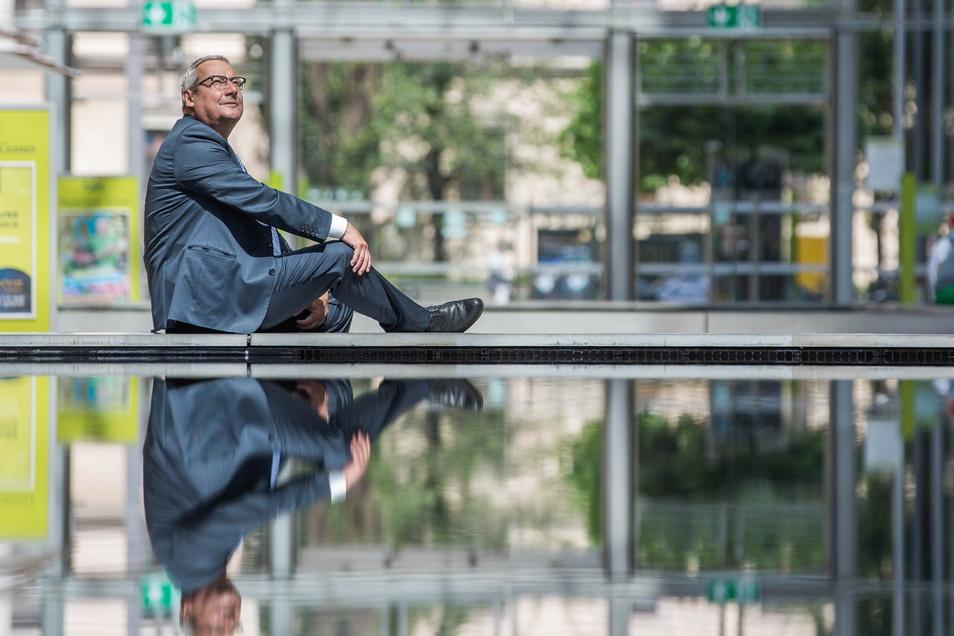 Jürgen Rees will das Erscheinungsbild des Atriums gravierend verändern.