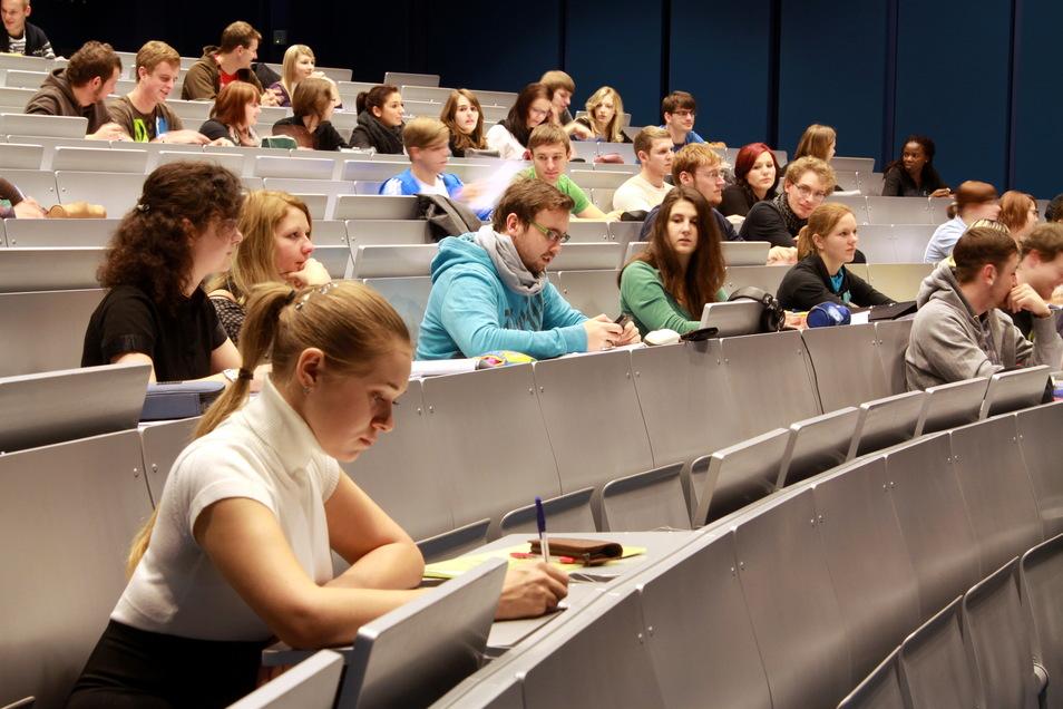 Die Studenten der Hochschule sind zum großen Teil zufrieden mit ihrem Studium.