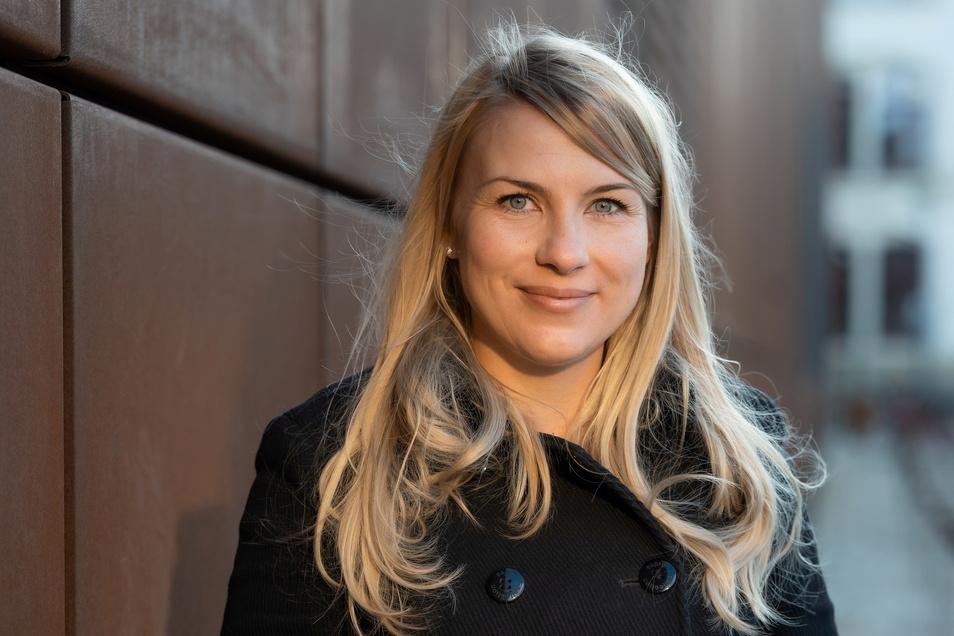 Maria Piechnick, Mitgründerin von Wandelbots, wünscht sich mehr Zuspruch für Gründerinnen.