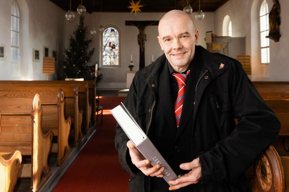 Sven Urban hat ebenfalls im Pflegeheim der Diakonie geholfen. Er begründet sein Engagement mit seiner Verantwortung als Christ und Sozialdemokrat.