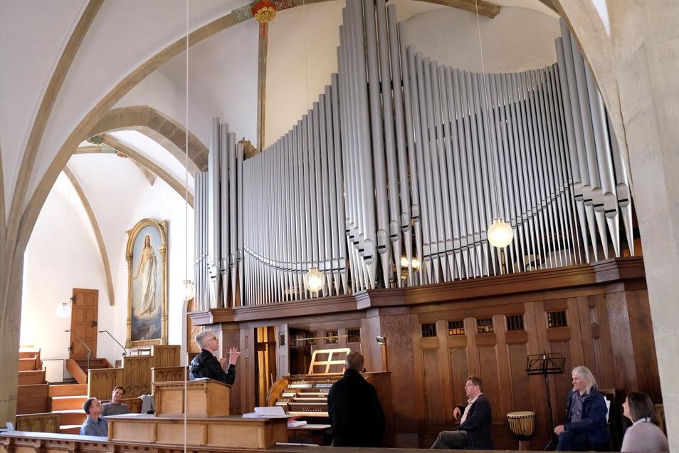 5.000 Stunden lang wurde die historische Orgel restauriert.