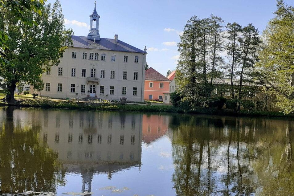 Dass das Türmchen zurück auf Schloss Lauterbach kam, ist auch der ländlichen Entwicklung durch den Dresdner Heidebogen zu verdanken.