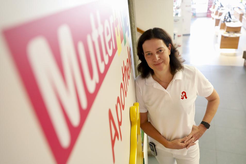 Birgit Schleicher führt ab 1. September allein die Alte Apotheke in Löbau.