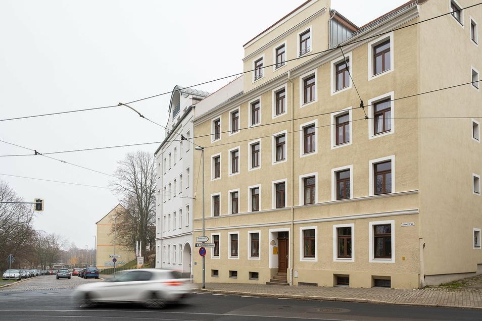 Das Büro der AWO Wohnungslosenhilfe befindet sich auf der Zittauer Straße 17 in Görlitz in der Nähe des Verkehrsgartens.