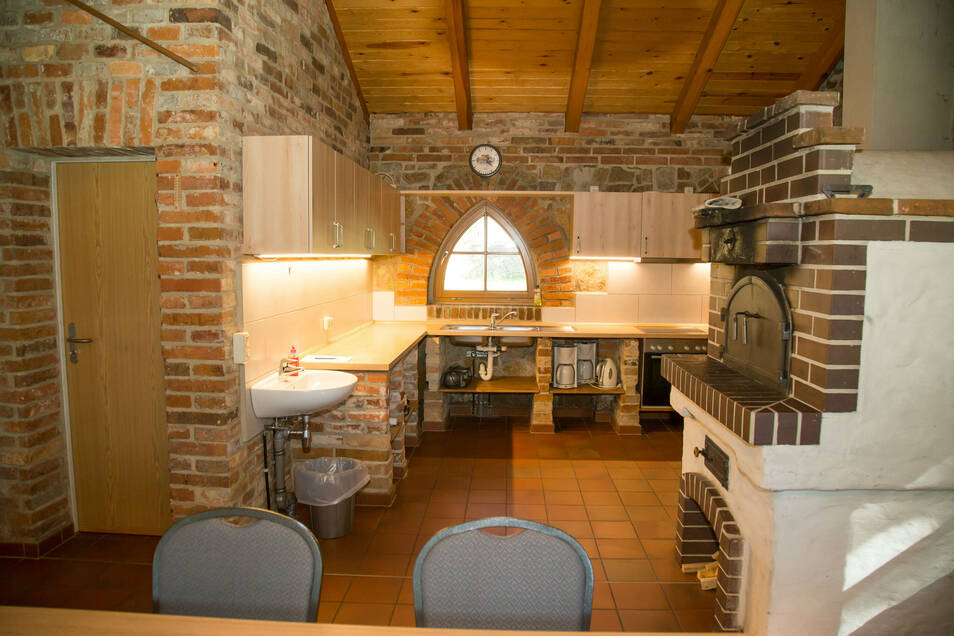 Zu einer beliebten Stätte für Feiern ist das Backhaus in Kodersdorf geworden. Seit vergangenem Jahr ist es mit einer neuen Küche ausgestattet.