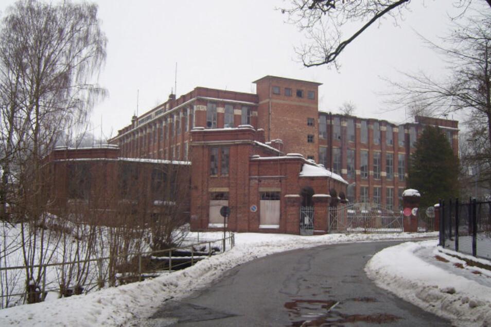 Die ehemalige Spinnerei an der Bleichstraße in Ebersbach.