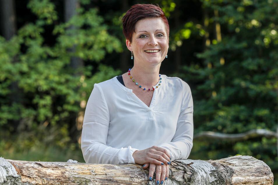 Kati Wenzel, 37, tritt für die Freien Wähler an.
