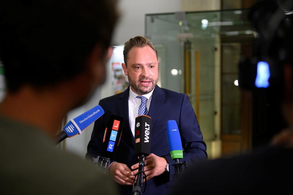Alexander Dierks, Generalsekretär der CDU Sachsen.