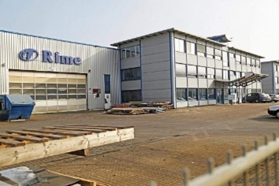 In Riesa hat zuletzt die Firma Rime eine Werkhalle gebaut.
