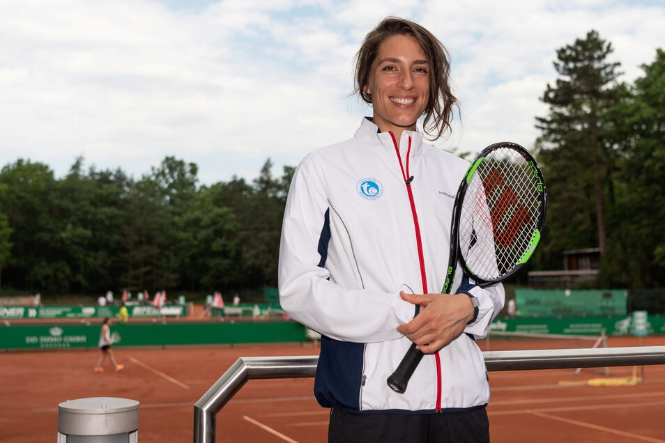 Andrea Petkovic will wieder für Blasewitz in der Tennis-Bundesliga spielen.