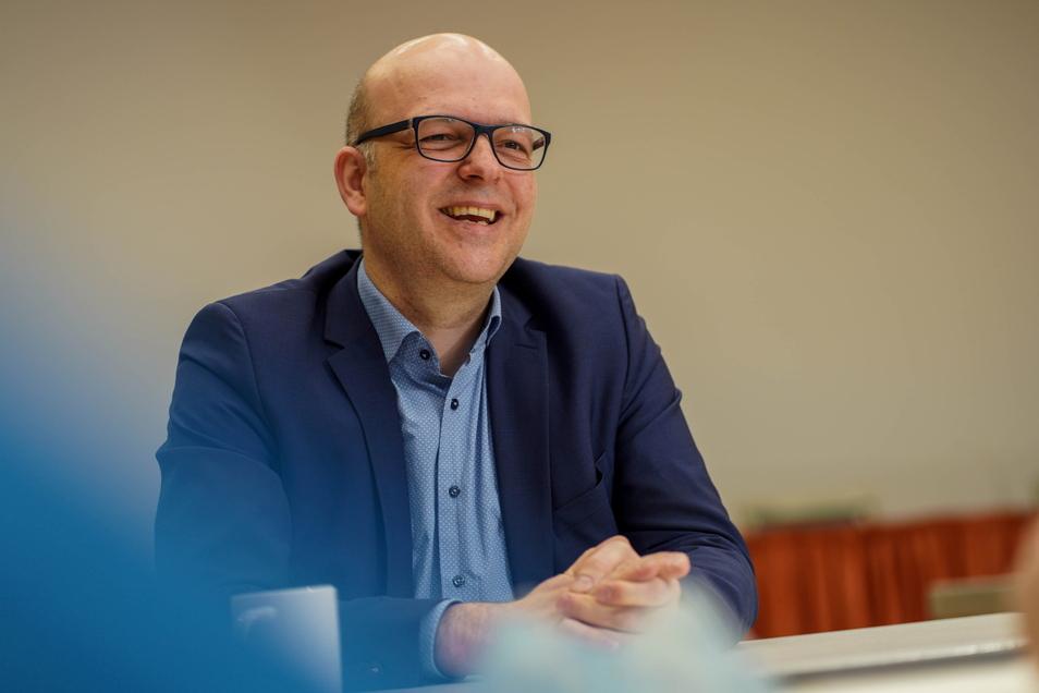 Sebastian Kieslich leitet das Bildungsgut Schmochtitz Sankt Benno.