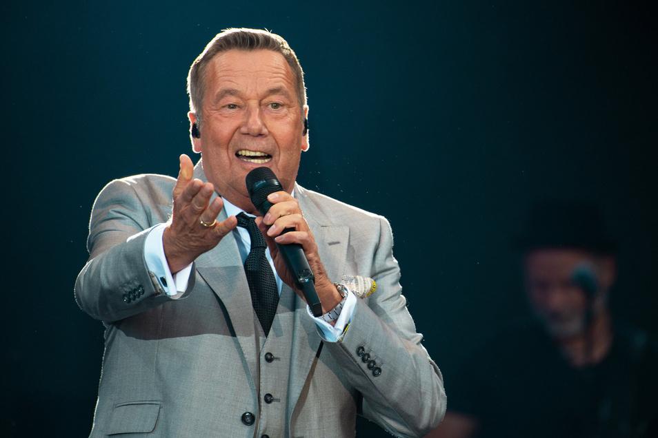 Roland Kaiser singt auch 2020 gleich viermal am Dresdner Elbufer.