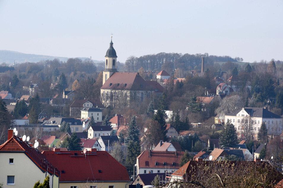 Blick auf Seifhennersdorf.