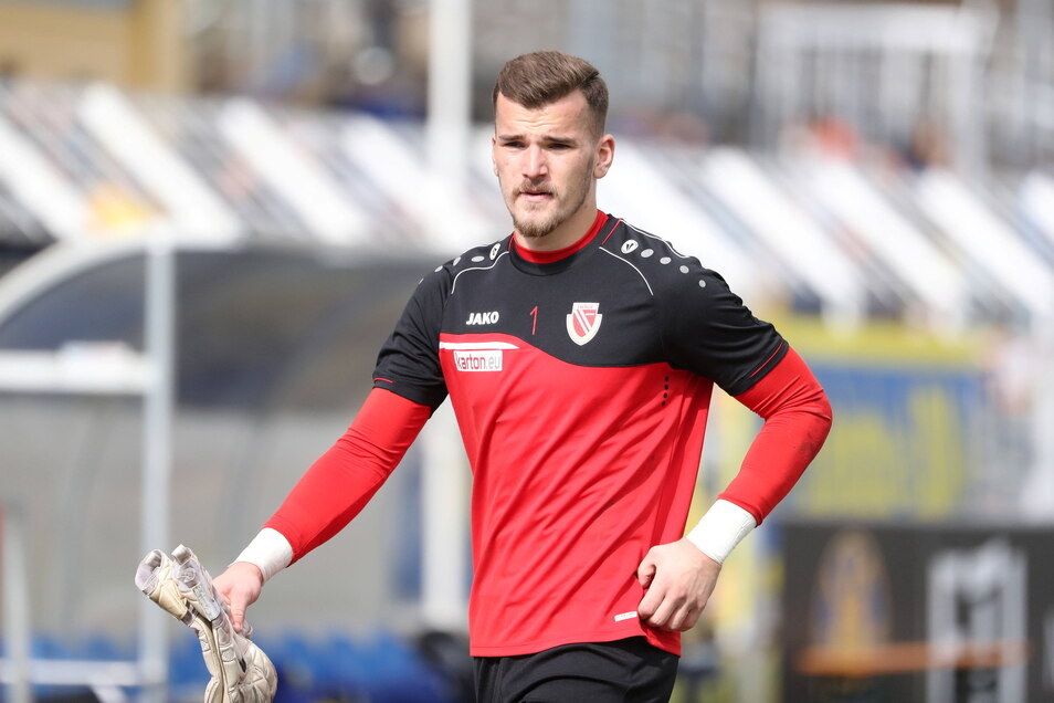 Als Torwart hat Tim Stawecki für Energie Cottbus fünf Spiele in der Regionalliga bestritten.
