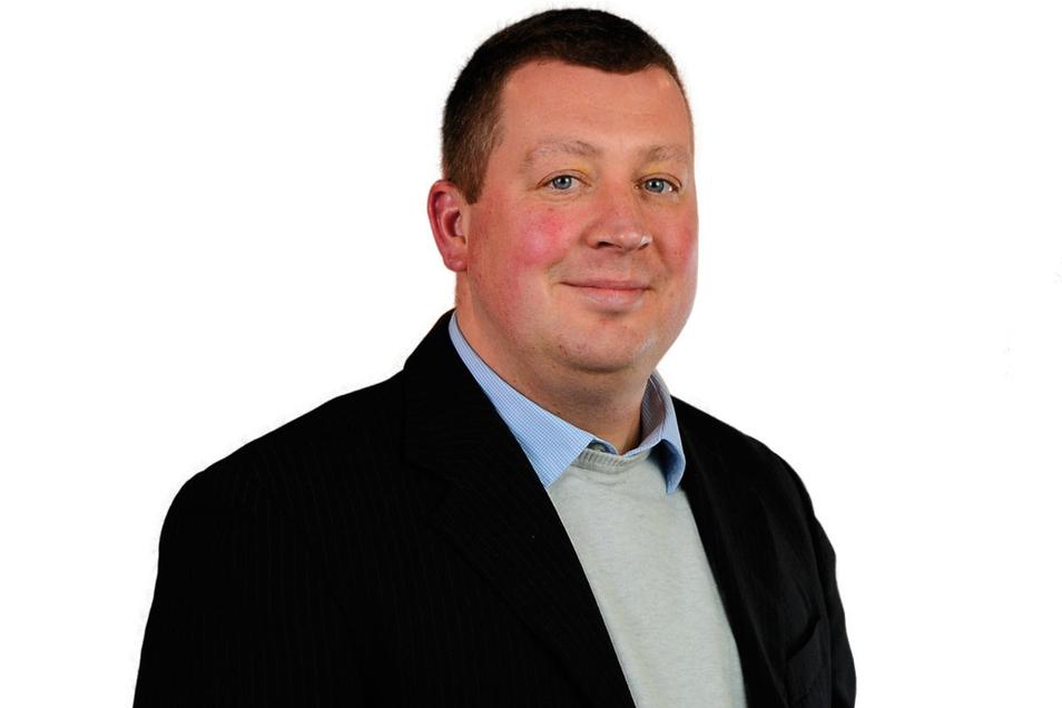Daniel Gliemann ist der neue Vorsitzende der Freien Wähler Freital.